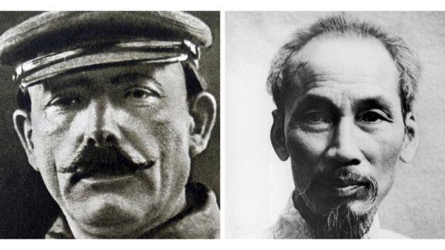 Mikhail Borodin và Hồ Chí Minh
