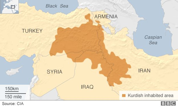 Kurdish-populated regions
