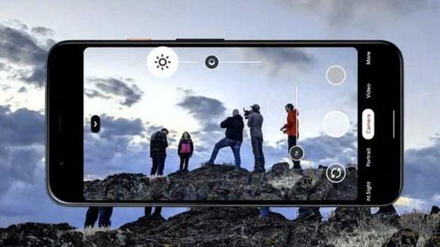Foto como se ve en el celular