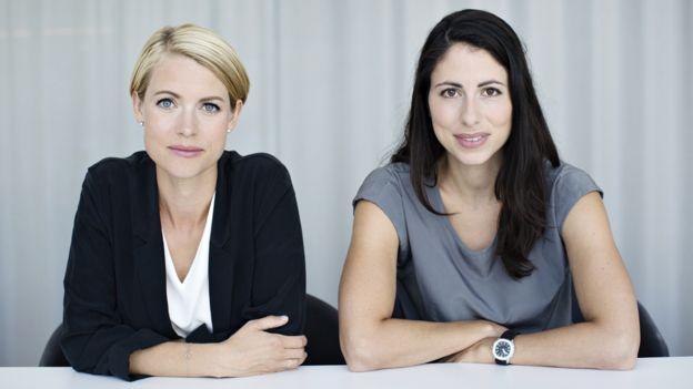 Sara Wimmercranz y Susanne Najafi