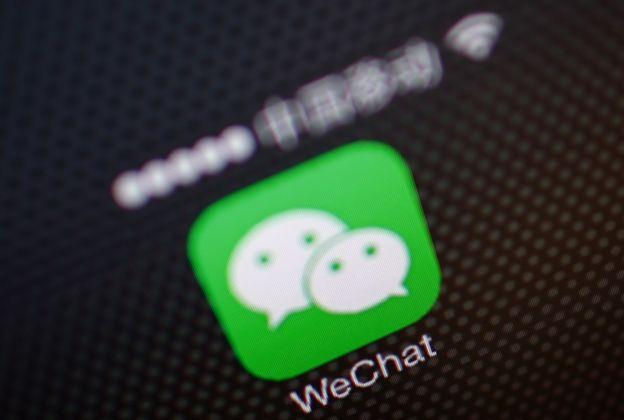 Le logo de WeChat