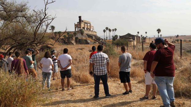 Tarım bölgeleri İsrailli turistlerin gezdiği noktalardan biriydi.
