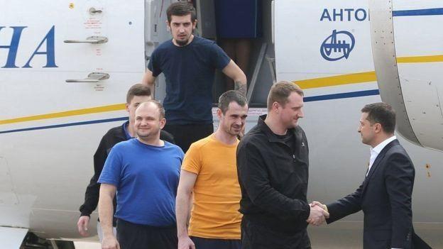 """7 вересня Україна та Росія здійснили обмін в'язнями за формулою """"35 на 35""""."""