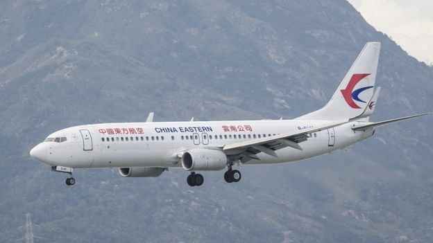 A China Eastern plane