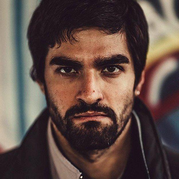 El actor italiano Giulio Corso