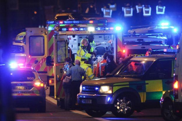 De los ocho ataques con atropellos registrados en el último año, tres han ocurrido en Londres.