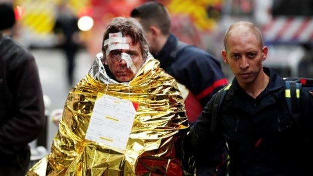 Ít nhất 20 người bị thương sau vụ nổ ga