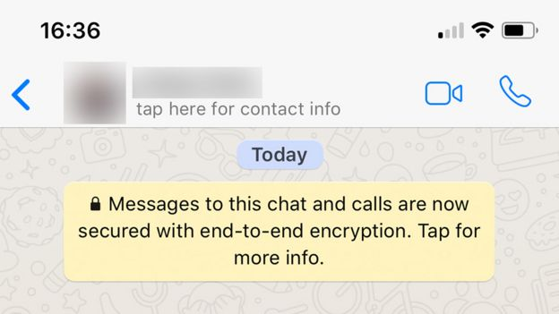 Encryption on Facebook Messenger and other chat apps - BBC News