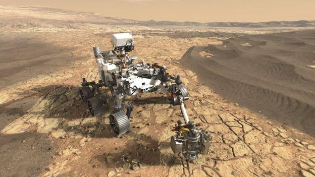 veículo explorador da missão Marte 2020