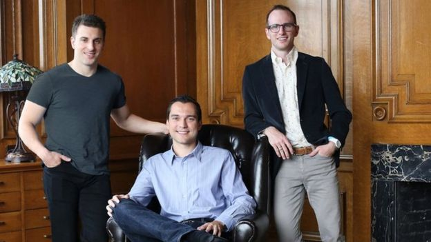 Airbnb Founders: Brian Chesky, Nathan Blecharczyk, Joe Gebbia