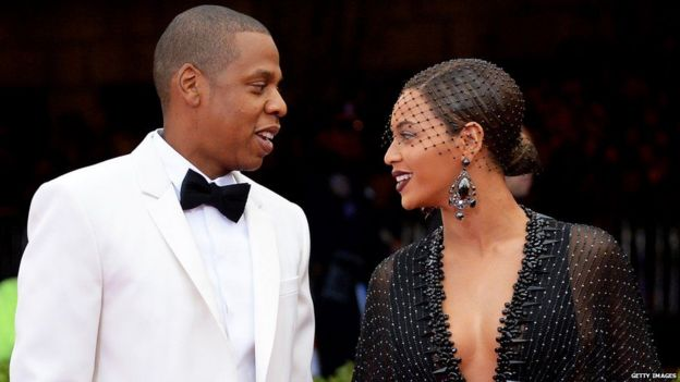 JAY-Z na mkewe Beyonce