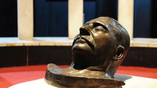 Máscara mortuoria de Stalin