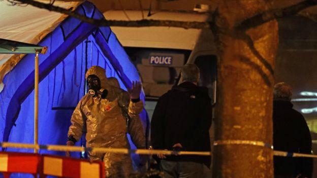 Полиция проводит расследование в нескольких районах в Солсбери