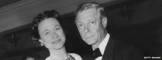 Edward pictured with his wife Wallis Simpson