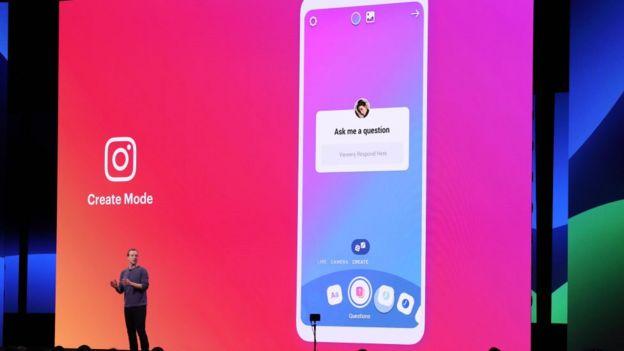 Mark Zuckerberg en la conferencia de desarrolladores de Facebook.