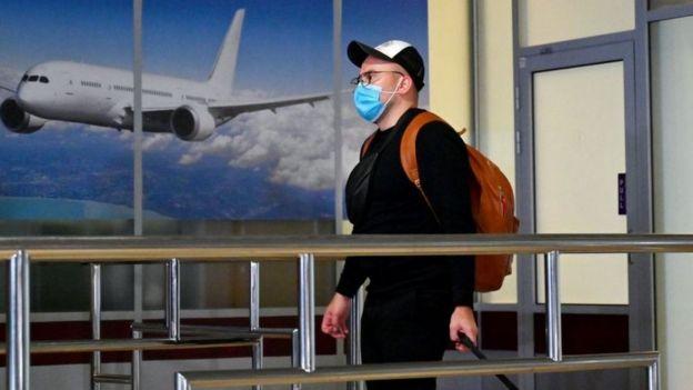 Virus corona, penerbangan