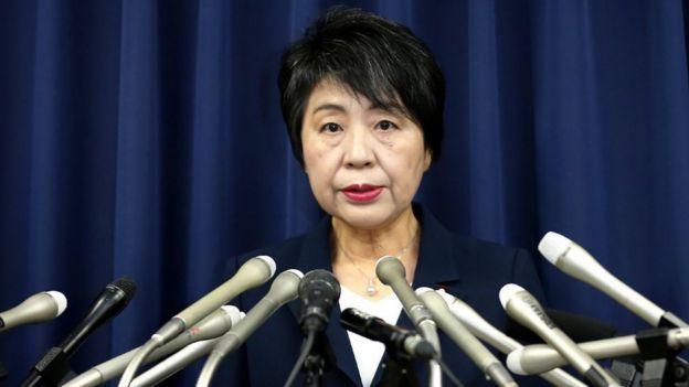 وزیر دادگستری ژاپن