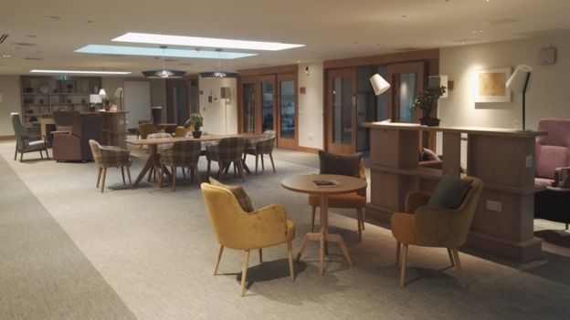 New 21m Hospice Opens In Glasgows Bellahouston Park Bbc News