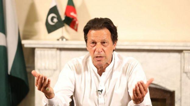 عمران خان، رهبر حزب تحریک انصاف