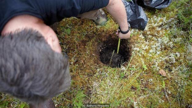 هر چه کربن موجود در خاک بیشتر باشد رنگ آن هم تیرهتر میشود