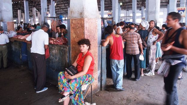 Una carnicería en Cuba