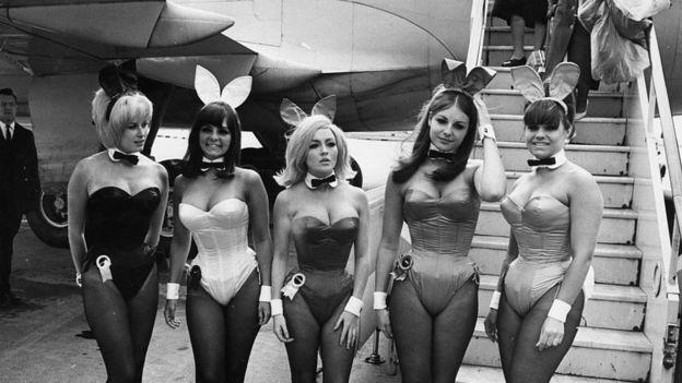 As coelhinhas da Playboy