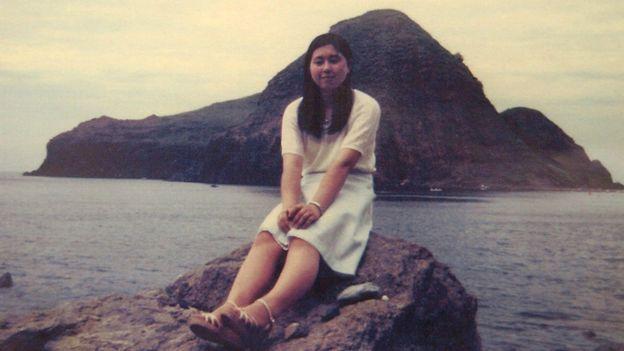 Hitomi Soga antes de su secuestro