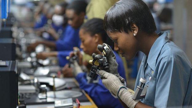 Mineiração em Botswana