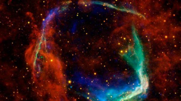 Restos de la supernova RCW86