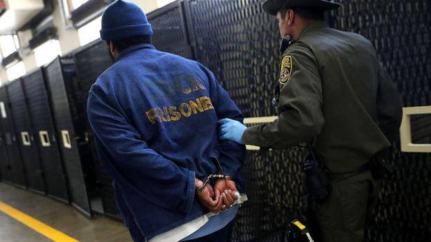 Preso en el corredor de la muerte