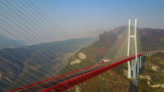 Así Se Construyó El Puente Beipanjiang El Más Alto Del Mundo Bbc