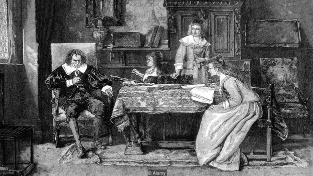 Michael Munkacsy, John Milton