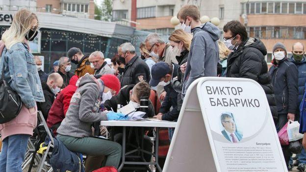 Сбор подписей в поддержку Бабарико