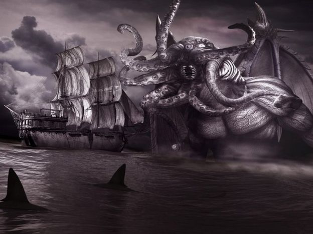 Una representación del monstruo Cthulhu