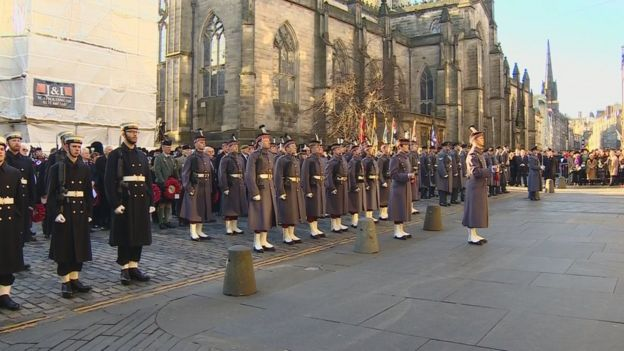 Remembrance Sunday Edinburgh 2019