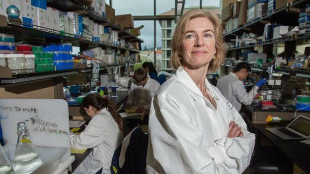Jennifer Doudna en la Universidad de California, en Berkeley