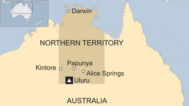 Map Of Australia Showing Uluru.Australia Flood Uluru National Park Closed After Huge Rainfall
