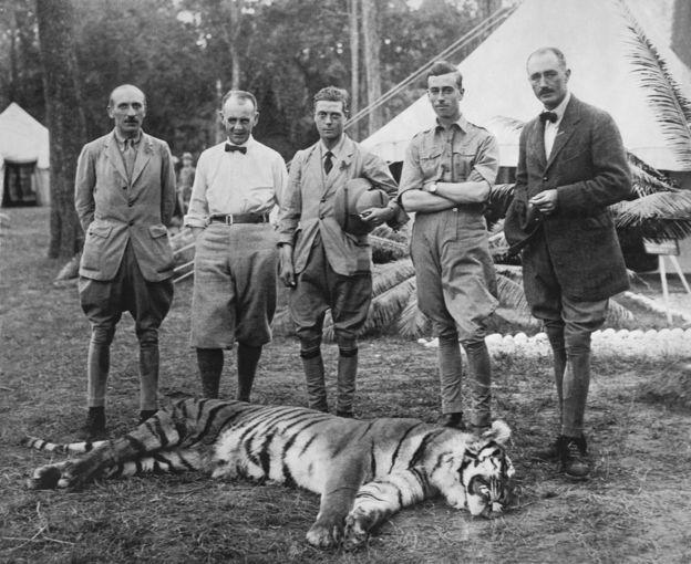 การล่าเสือของชนชั้นสูงในเนปาล ช่วงศตวรรษที่ 19