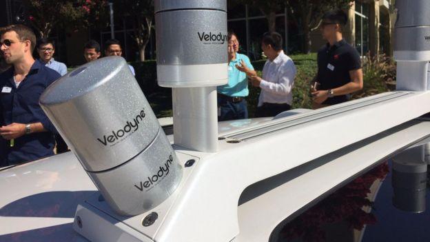 A Ford investiu na Velodyne, uma empresa que trabalha na tecnologia LiDAR