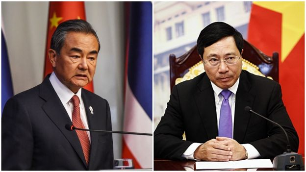 Báo chí Việt Nam và Trung Quốc đưa tin hơi khác nhau về cuộc gặp song phương giữa Ngoại trưởng VN và TQ tại Bangkok hôm 1/8.