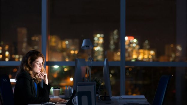 Trabajadora nocturna