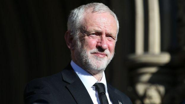 جيرمي كوربن زعيم حزب العمال المعارض في بريطانيا