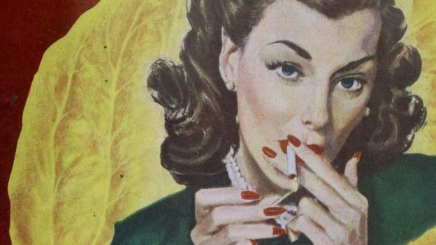 Mulher fumante