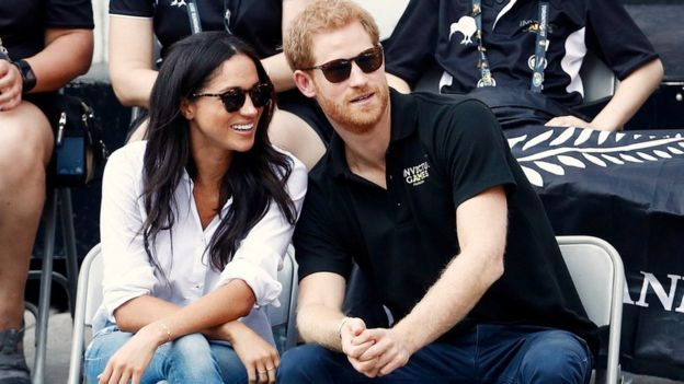 Meghan Markle and Prince Harry made their first appearance together in public in September 2017