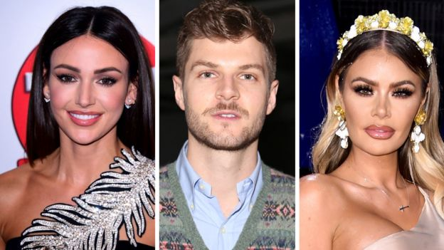 Michelle Keegan, Jim Chapman and Chloe Sims