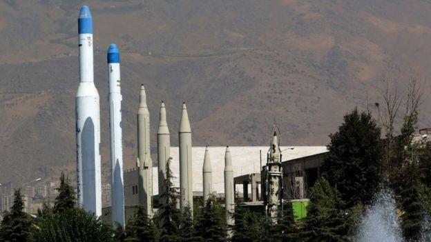 Misiles en Irán