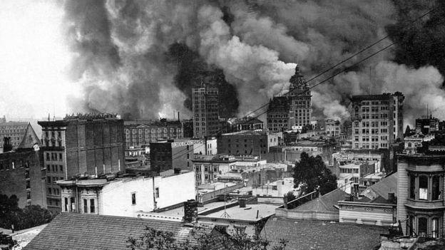 Terremoto de San Francisco 1906.