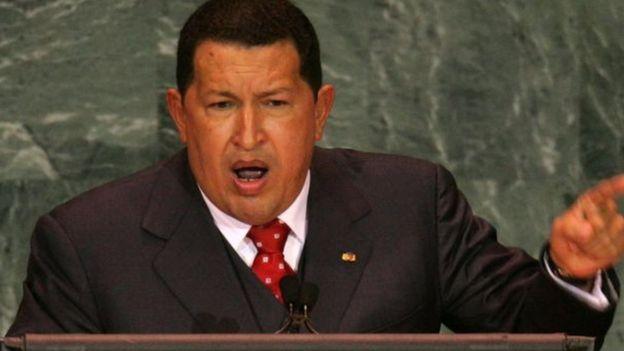 Bài diễn văn của ông Trump đáng nhớ hơn ngôn từ triết học của Hugo Chavez?