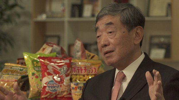 Akira Matsumoto, Chairman, Calbee