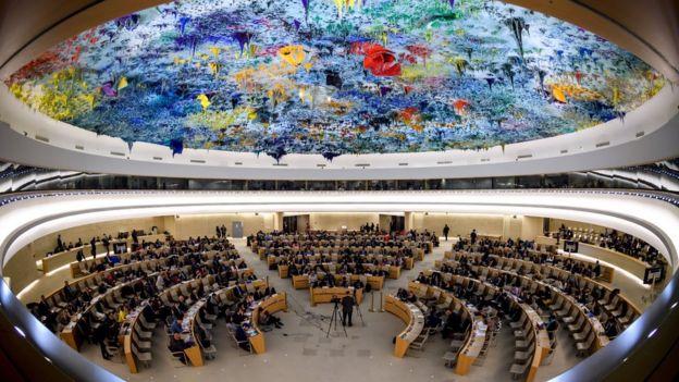Sede del Consejo de Derechos Humanos de la ONU